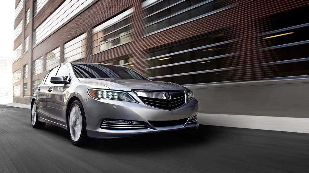 2017 Acura RLX light exterior