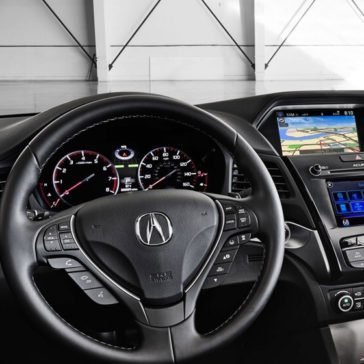 2017 Acura ILX front interior features