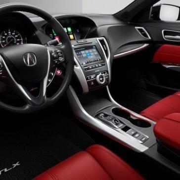 2018 Acura TLX front interior