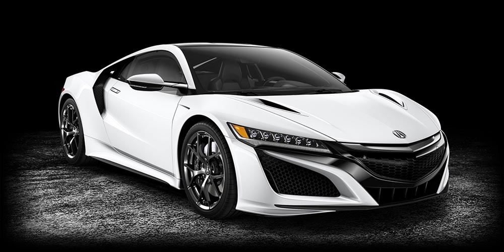 2017-Acura-NSX-130R-White - Acura North Scottsdale