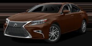 2017 Lexus ES white background