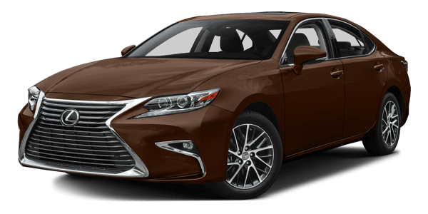 2017 Lexus ES white background