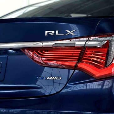 2018 Acura RLX rear view