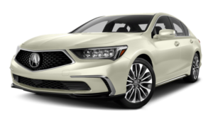 2018 Acura RLX Sedan white background