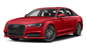 2018 Audi A6 white background