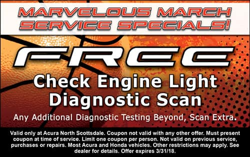 Check Engine Light Diagnostic Scan