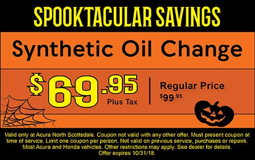 Auto Service Specials Acura North Scottsdale Near - Acura oil change coupons