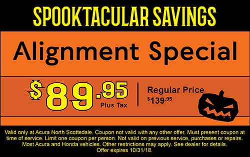 Auto Service Specials Acura North Scottsdale Near - Acura dealer service coupons
