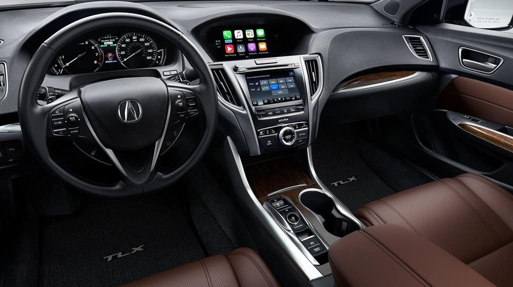 2018 Acura TLX front interior