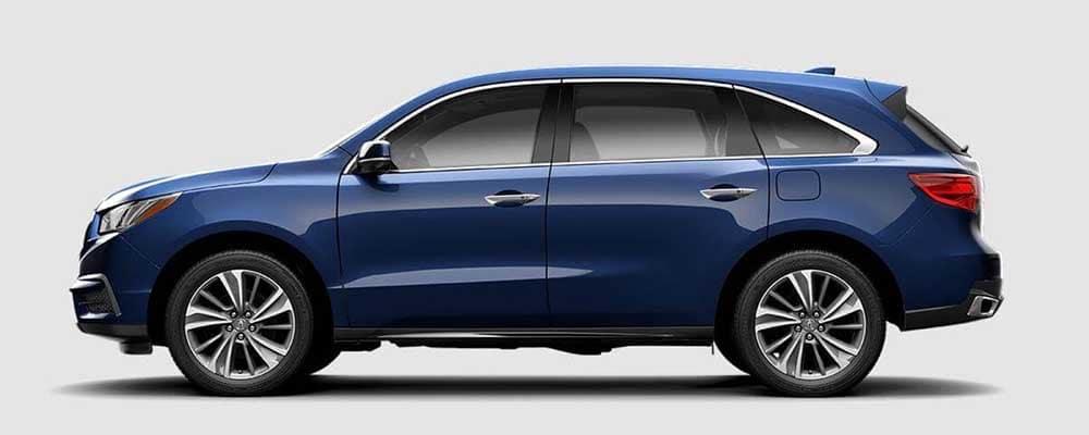 2018 Acura MDX Fathom Blue Exterior