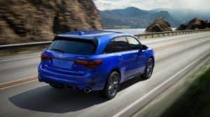 Acura MDX 2019 blue exterior model