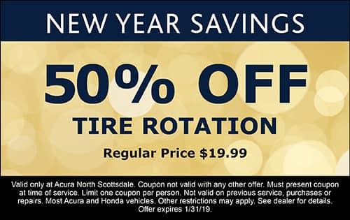 Auto Service Specials Acura North Scottsdale Near Scottsdale