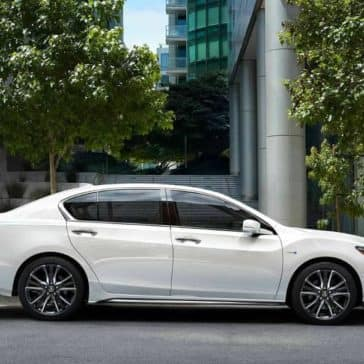 Side exterior of 2019 Acura RLX