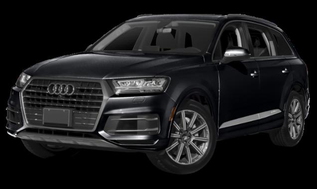 Black Audi Q7