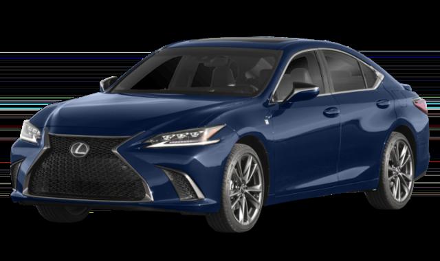 Blue Lexus ES 350