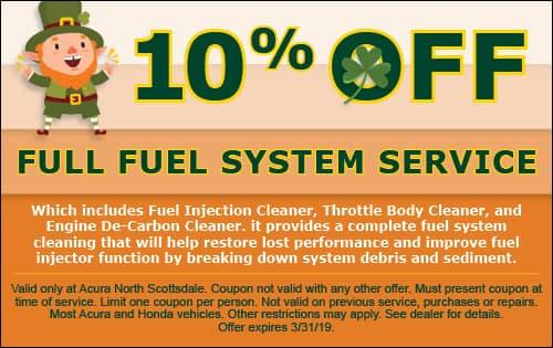 Full Fuel System Service