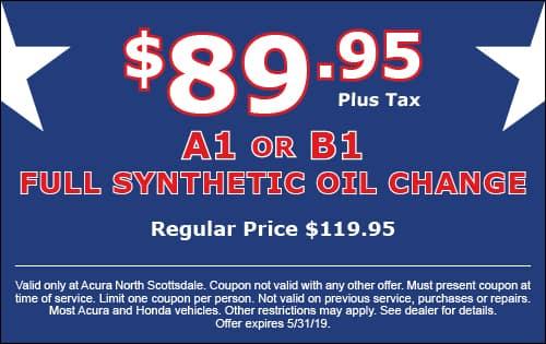 Acura Service Oil Change Car Maintenance Phoenix Phoenix