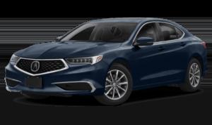 Navy Blue 2019 Acura TLX