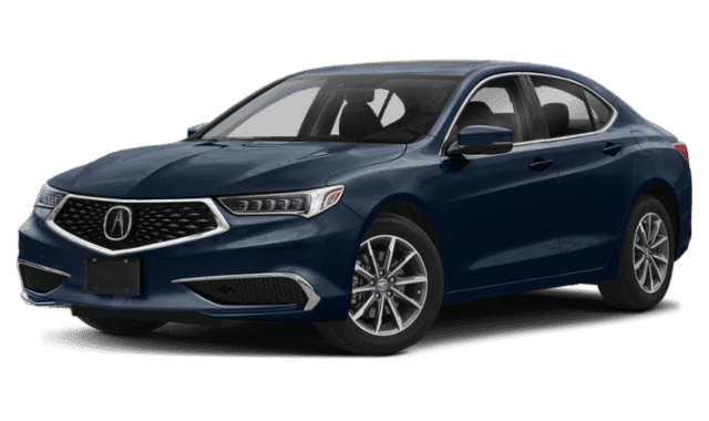 Navy Blue 2019 Acura TLX
