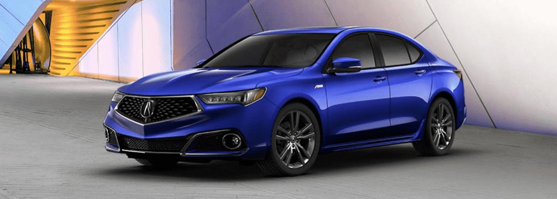 2020 Blue Acura TLX