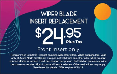 Wiper Blade Insert Replacement