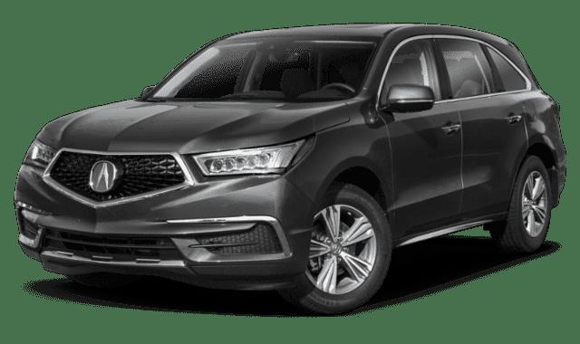 Gray 2019 Acura MDX
