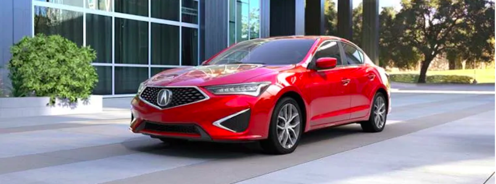 Red Acura ILX