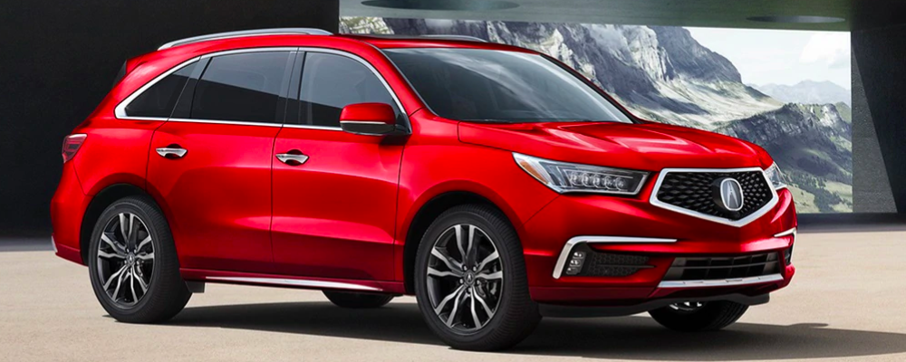 Red Acura MDX