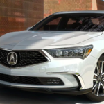 White 2020 Acura RLX