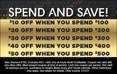 Spend and Save offer