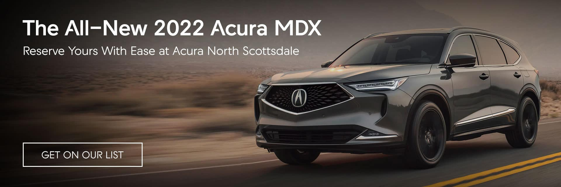 The All-New 2022 Acura MDX