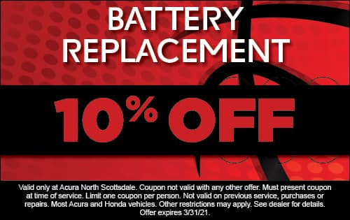 Battery replacement 10% off
