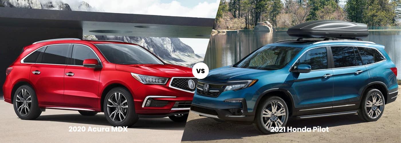 Acura MDX vs. Honda Pilot