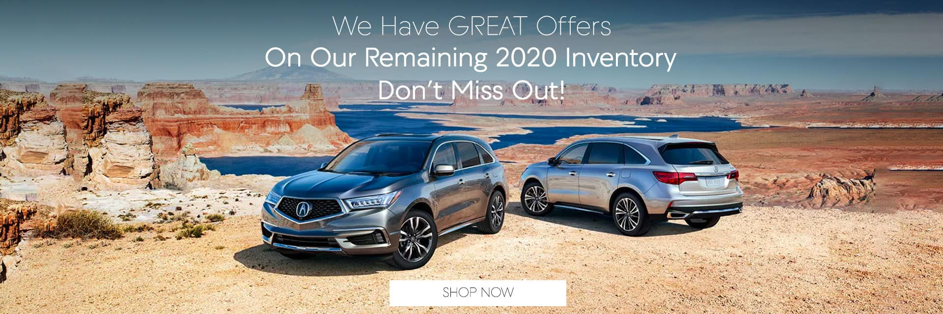 Great offers on 2020 inventory