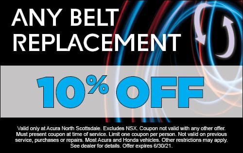 10% Off Any Belt Replacement