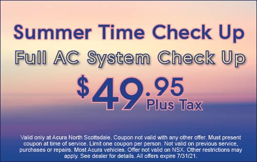 Full AC System Check Up $49.95 plus tax