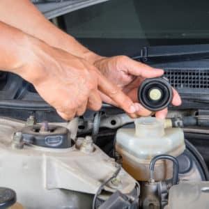 acura brake fluid