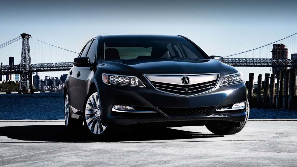 2017 Acura RLX front exterior