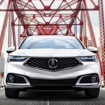 2018 Acura TLX front exterior