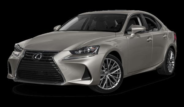 2017 Lexus IS white background