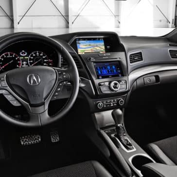 2018 Acura ILX front interior