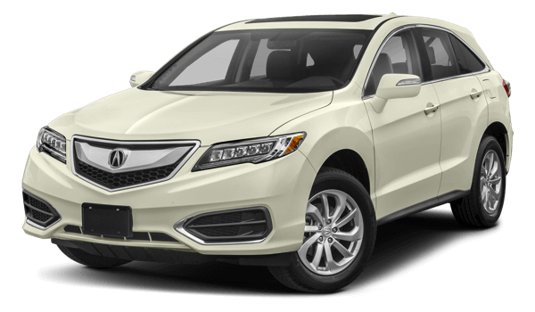 2018 Acura RDX white background