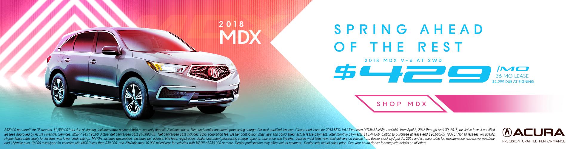 MDX V-6 AT 2WD