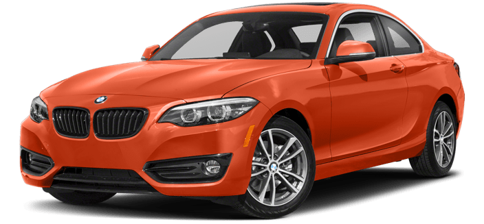 2018 BMW 2 Series bright exterior model