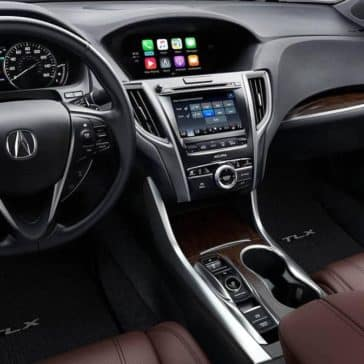 2019 Acura TLX front interior features