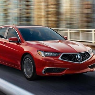 2019 Acura TLX front exterior view