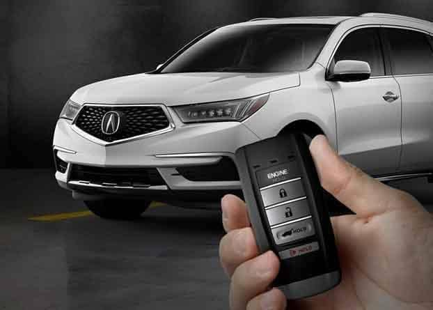 2018 Acura MDX Remote Engine Start