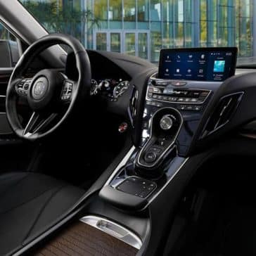 2019 Acura RDX Dashboard Features