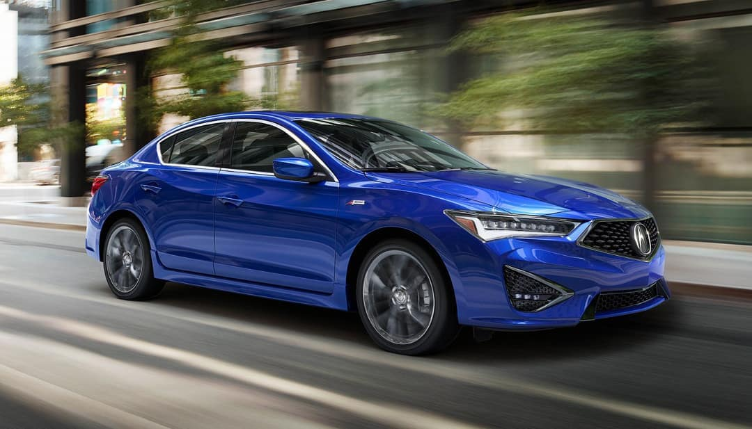 2019 Acura ILX with A-Spec package