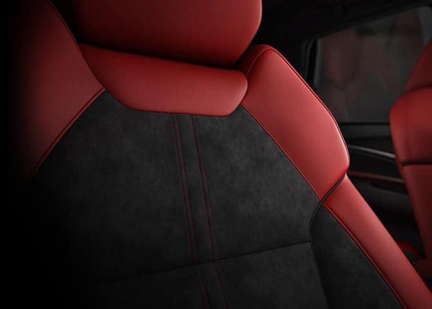 2019 Acura MDX alcantara-trimmed interior